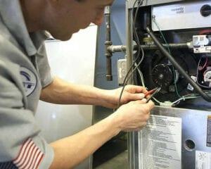 Repairing furnace in Ferndale, WA